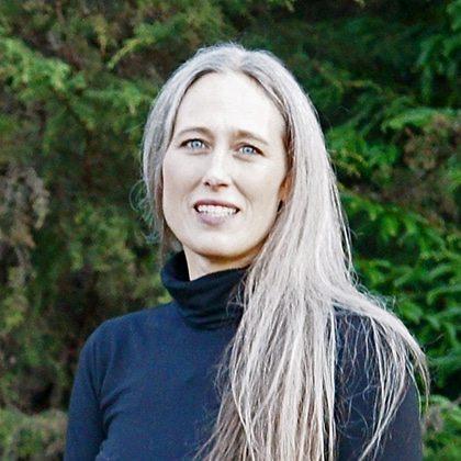 Lisa Garza-Hillman, principal/designer, inkfish design